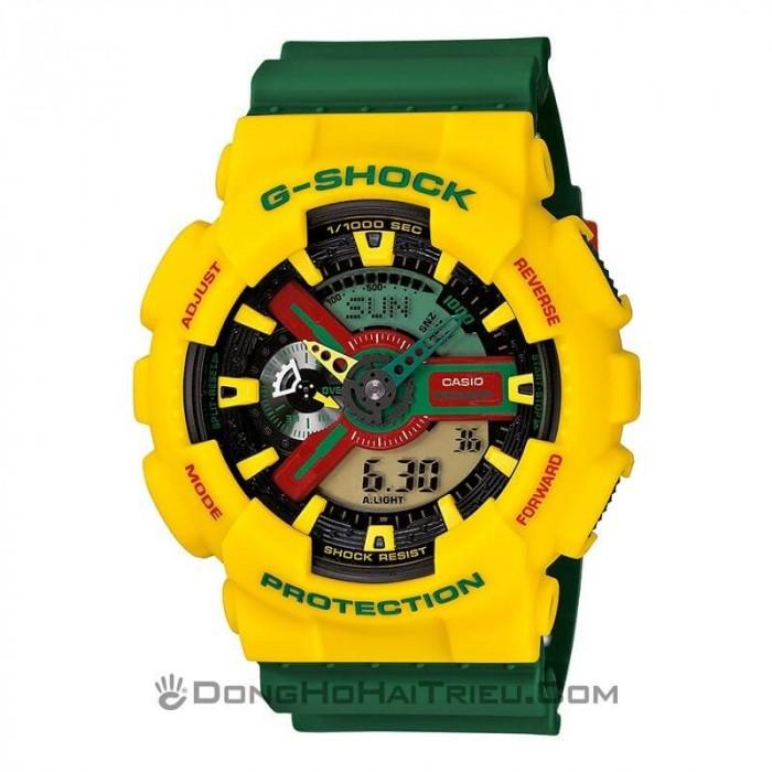 G-Shock Baby-G GA-110RF-9ADR, World Time 1