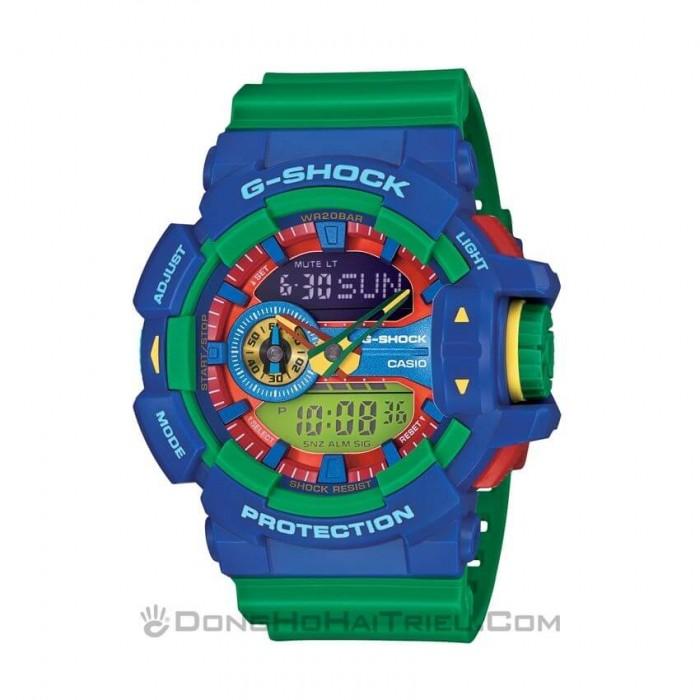 G-Shock Baby-G GA-400-2ADR, World Time 1