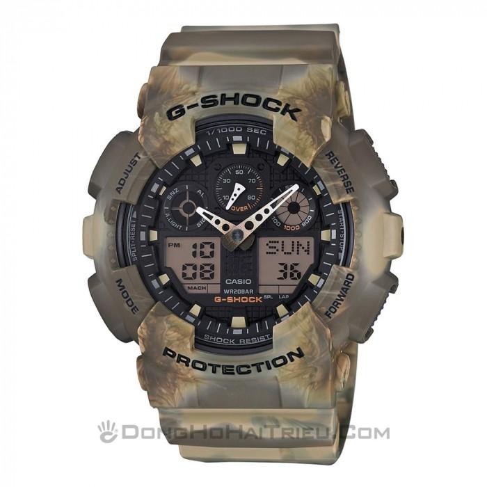 G-Shock Baby-G GA-100MM-5ADR, World Time 1