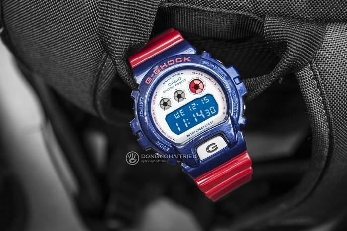 G-Shock DW-6900AC-2DR, cá tính thể thao độc đáo khó chối từ - Ảnh 1