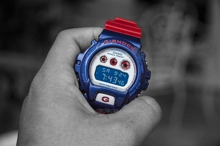 G-Shock DW-6900AC-2DR, cá tính thể thao độc đáo khó chối từ - Ảnh 2