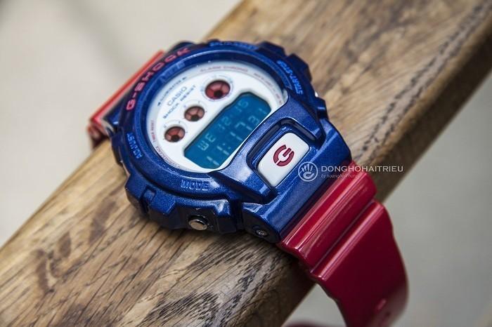 G-Shock DW-6900AC-2DR, cá tính thể thao độc đáo khó chối từ - Ảnh 4