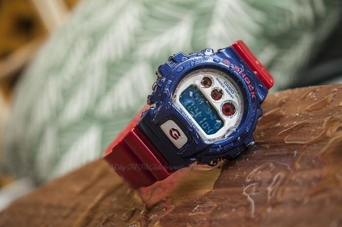 G-Shock DW-6900AC-2DR, cá tính thể thao độc đáo khó chối từ - Ảnh 5