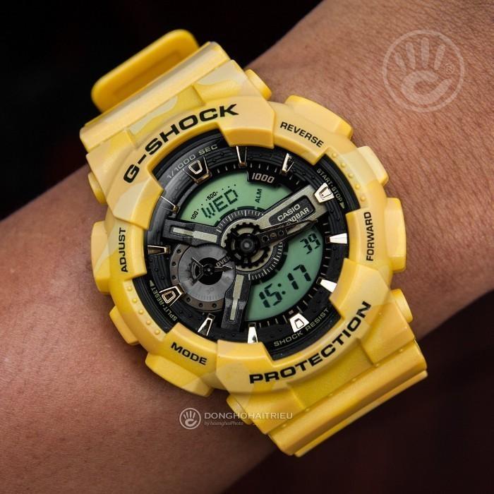G-Shock Baby-G GA-110CM-9ADR, World Time 2