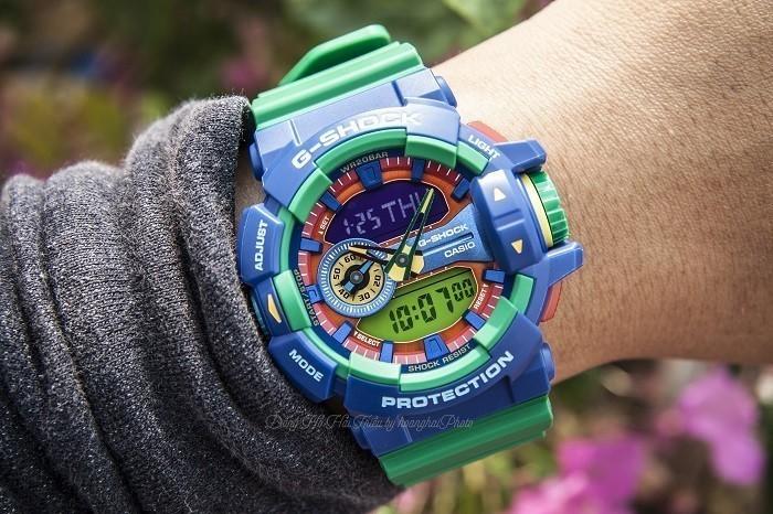 Review đồng hồ G Shock GA-400-2ADR: Tấm vé trở về tuổi thơ - Ảnh 1
