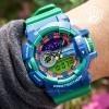 G-Shock Baby-G GA-400-2ADR, World Time 8