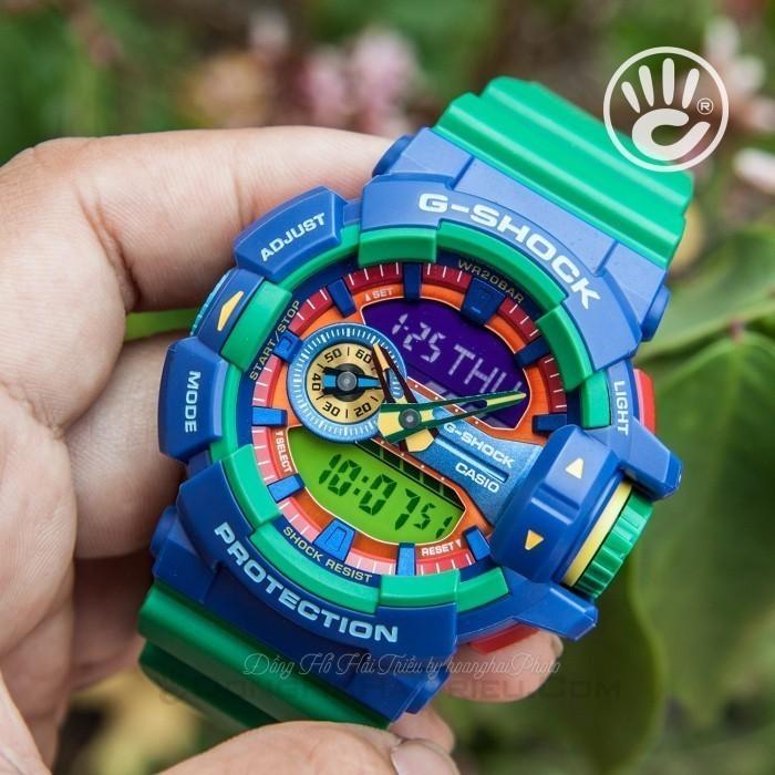 G-Shock Baby-G GA-400-2ADR, World Time 3