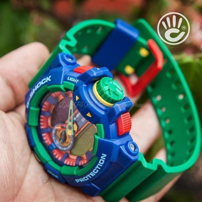G-Shock Baby-G GA-400-2ADR, World Time 4