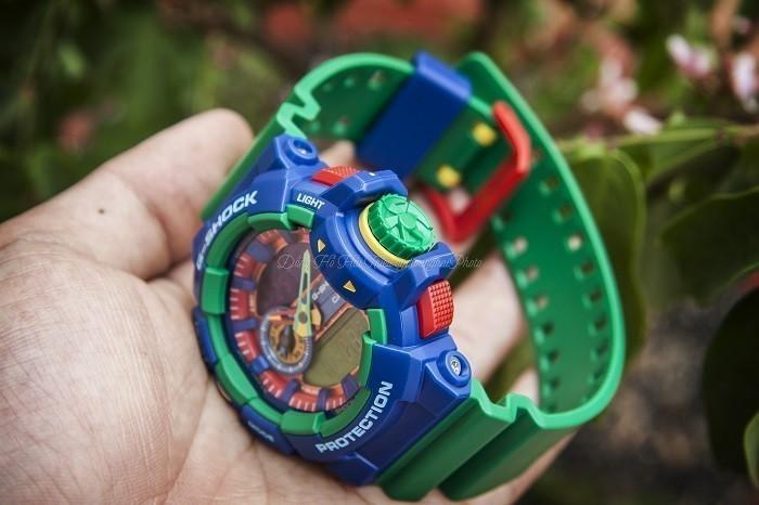 Review đồng hồ G Shock GA-400-2ADR: Tấm vé trở về tuổi thơ - Ảnh 4