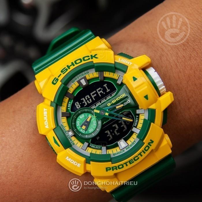 G-Shock Baby-G GA-400CS-9ADR, World Time 2