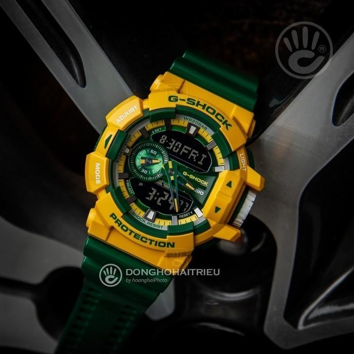 G-Shock Baby-G GA-400CS-9ADR, World Time 4