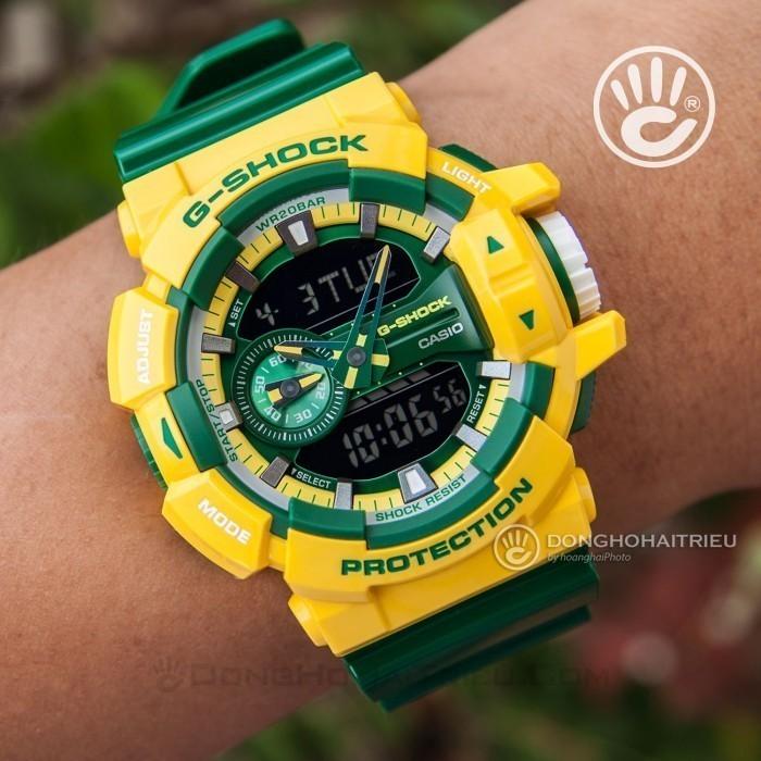 G-Shock Baby-G GA-400CS-9ADR, World Time 7