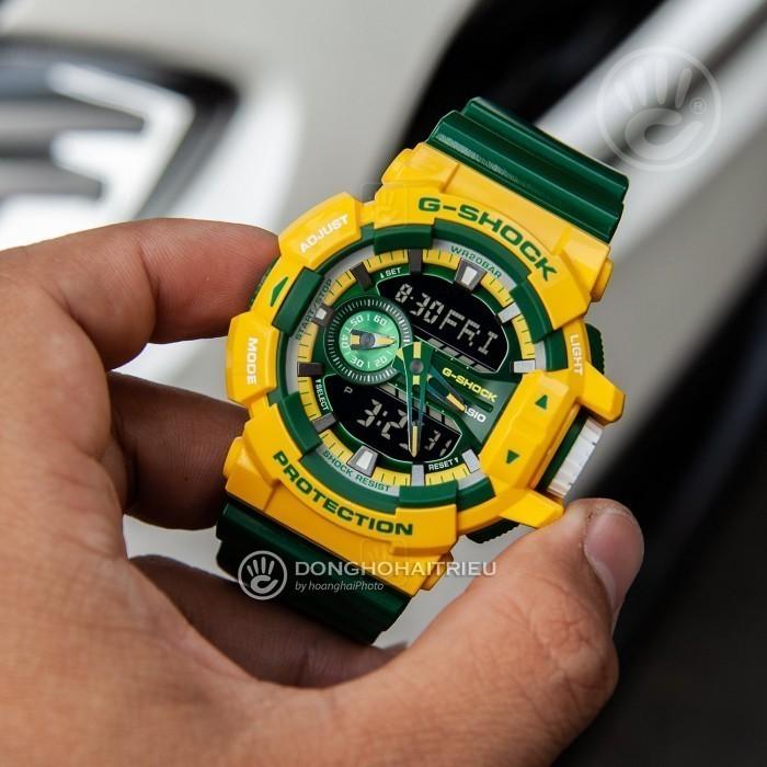 G-Shock Baby-G GA-400CS-9ADR, World Time 3