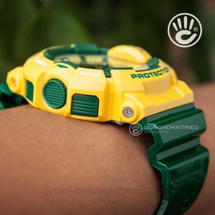 G-Shock Baby-G GA-400CS-9ADR, World Time 10