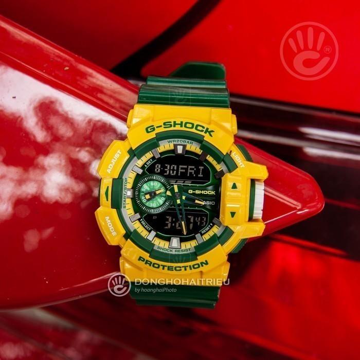 G-Shock Baby-G GA-400CS-9ADR, World Time 5