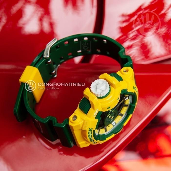 G-Shock Baby-G GA-400CS-9ADR, World Time 6