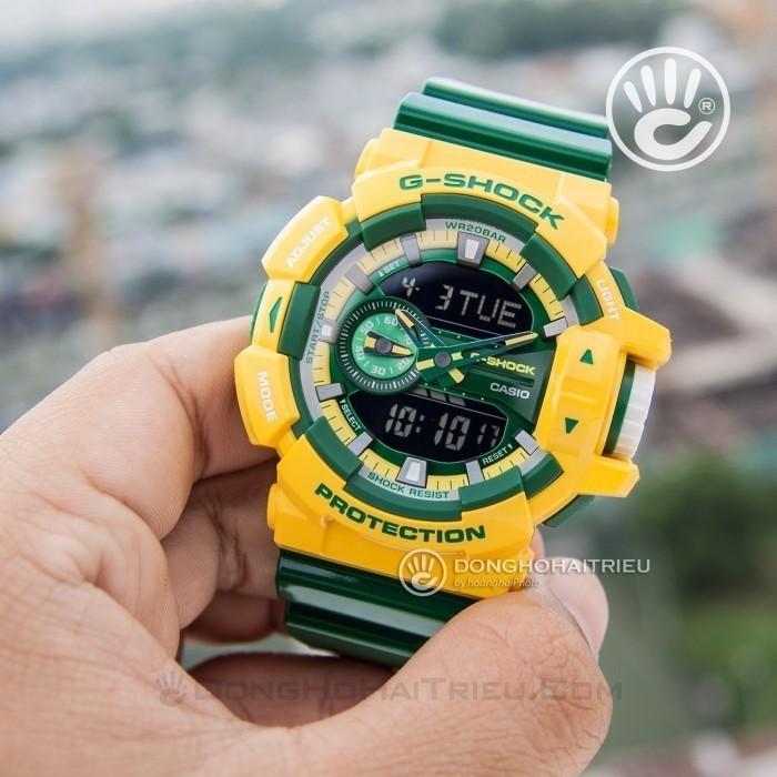 G-Shock Baby-G GA-400CS-9ADR, World Time 8