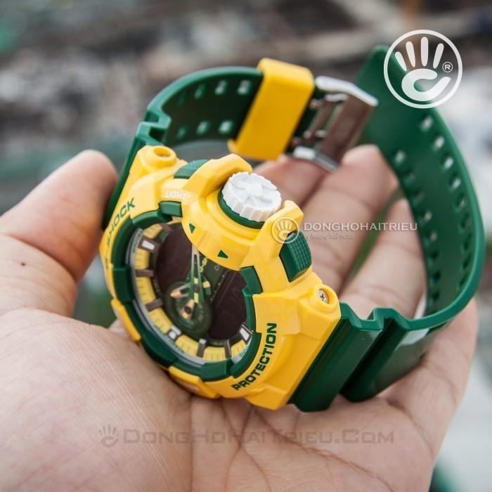 G-Shock Baby-G GA-400CS-9ADR, World Time 9