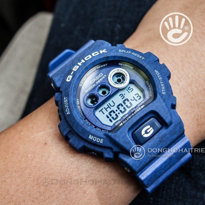 G-Shock Baby-G GD-X6900HT-2DR, World Time 2