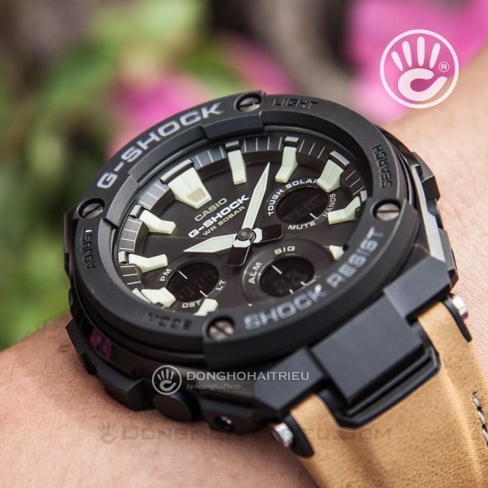 G-Shock GST-S120L-1BDR, Bộ Máy Năng Lượng Ánh Sáng 3