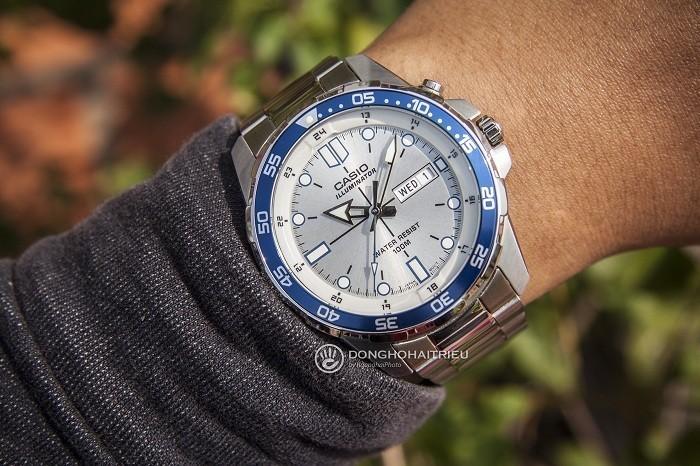 Đồng hồ Casio MTD-1079D-7A1VDF kim chỉ phủ dạ quang nổi bật - Ảnh 2