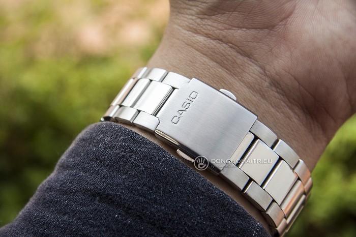 Đồng hồ Casio MTD-1079D-7A1VDF kim chỉ phủ dạ quang nổi bật - Ảnh 3