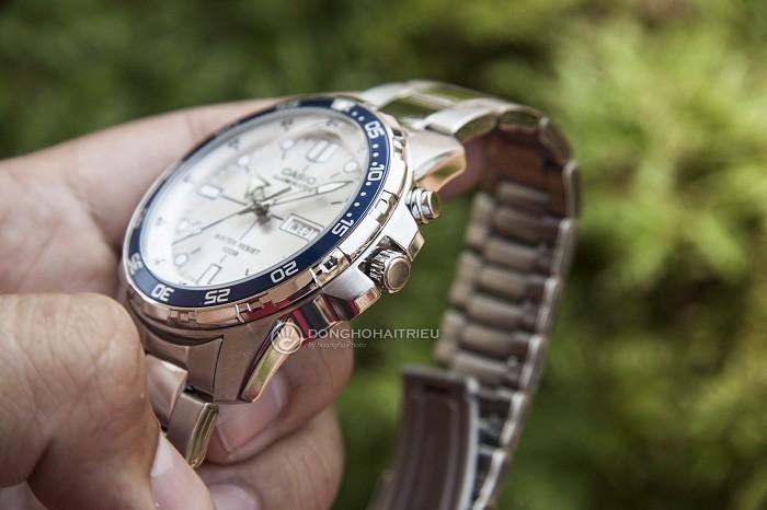 Đồng hồ Casio MTD-1079D-7A1VDF kim chỉ phủ dạ quang nổi bật - Ảnh 4