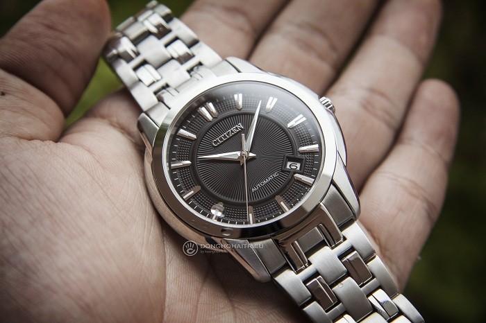 Review đồng hồ Citizen NB0020-55E: Dáng vẻ nam tính mạnh mẽ - Ảnh 2