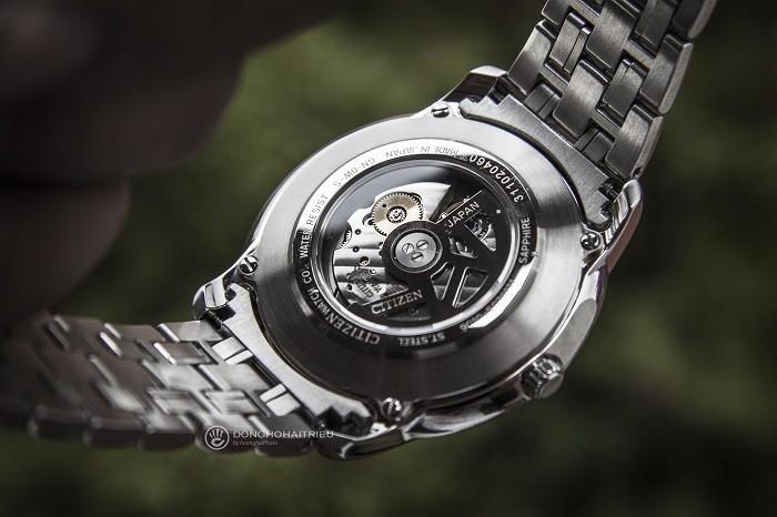 Review đồng hồ Citizen NB0020-55E: Dáng vẻ nam tính mạnh mẽ - Ảnh 4