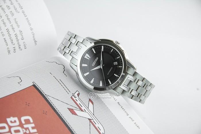 Review đồng hồ Citizen NB0020-55E: Dáng vẻ nam tính mạnh mẽ - Ảnh 5