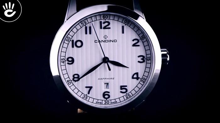 Candino C4506/1 Theo đuổi sự lịch lãm với mặt kính Sapphire - Ảnh 2