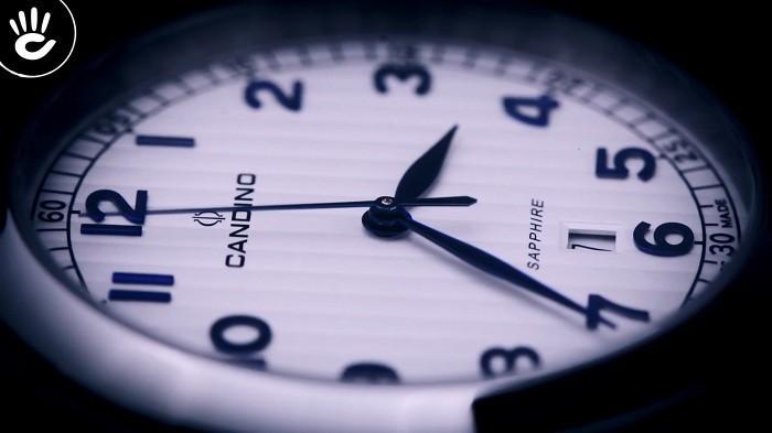 Candino C4506/1 Theo đuổi sự lịch lãm với mặt kính Sapphire - Ảnh 4