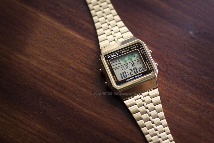 Review đồng hồ Casio A500WGA-1DF: Giá rẻ chất lượng cao. - Ảnh: 2