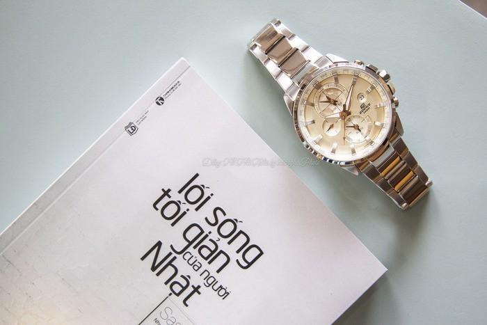 Review đồng hồ Casio ETD-310D-9AVUDF: Đa năng và thời trang. - Ảnh: 1