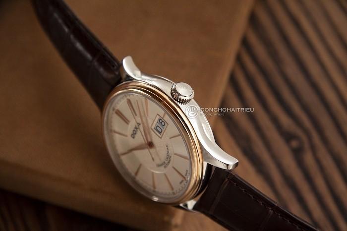 Đồng hồ Doxa D187RIY, đẳng cấp mặt đồng hồ vàng khối 18k - Ảnh 6
