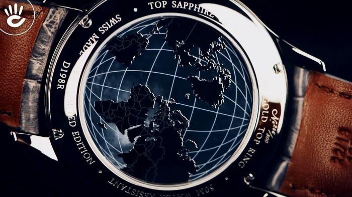 Review đồng hồ Doxa D198RTE phiên bản giới hạn chỉ 800 cái - Ảnh 4