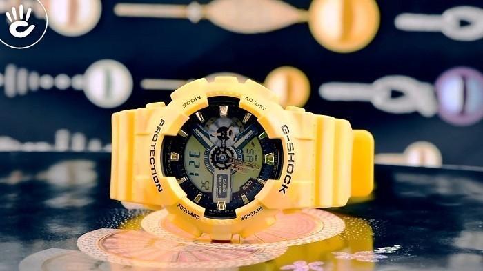 Thiết kế G-Shock GA-110CM-9ADR độc đáo từ thương hiệu Casio - Ảnh 1