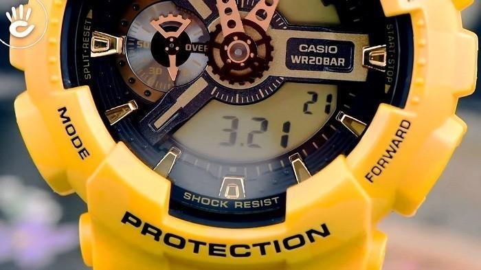 Thiết kế G-Shock GA-110CM-9ADR độc đáo từ thương hiệu Casio - Ảnh 2