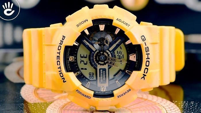 Thiết kế G-Shock GA-110CM-9ADR độc đáo từ thương hiệu Casio - Ảnh 4