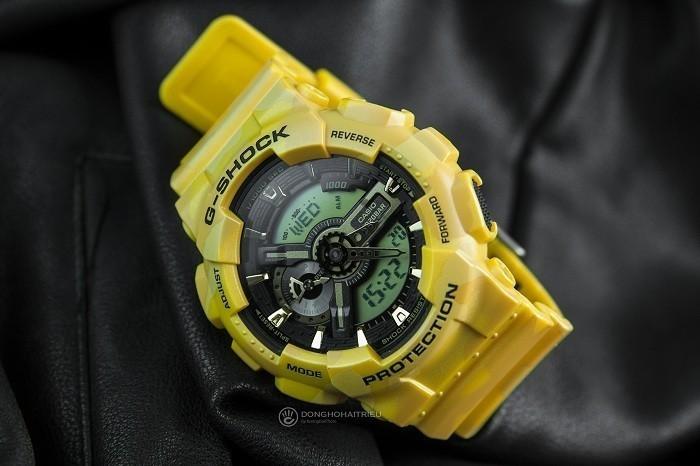 Thiết kế G-Shock GA-110CM-9ADR độc đáo từ thương hiệu Casio - Ảnh 5
