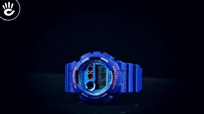 Đồng hồ G-Shock GD-120TS-2DR sắc xanh đem đến cá tính riêng - Ảnh 1