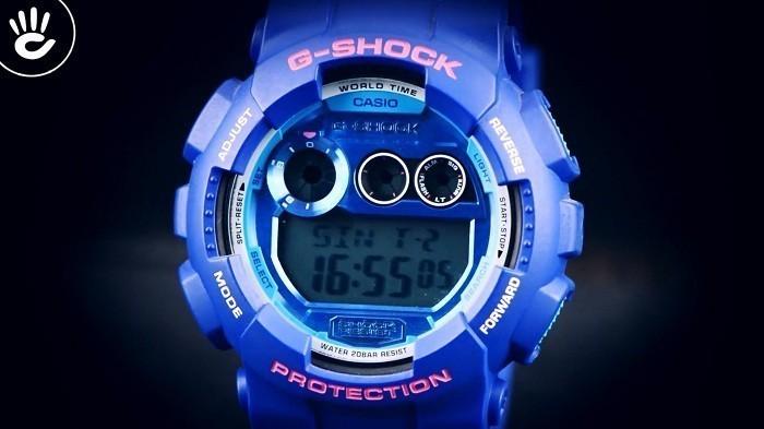 Đồng hồ G-Shock GD-120TS-2DR sắc xanh đem đến cá tính riêng - Ảnh 2