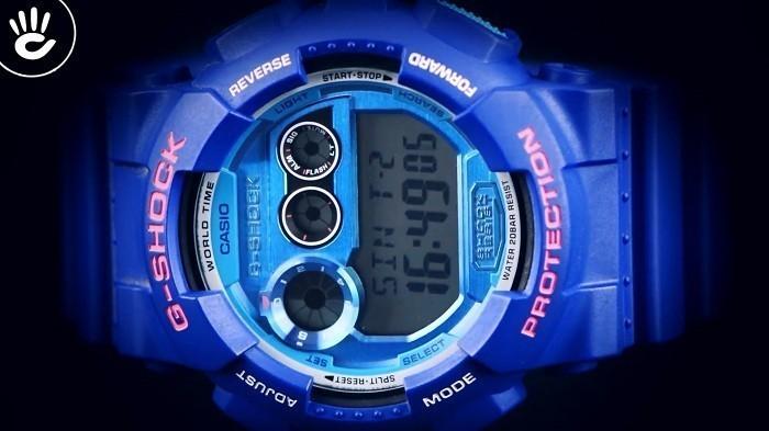 Đồng hồ G-Shock GD-120TS-2DR sắc xanh đem đến cá tính riêng - Ảnh 4