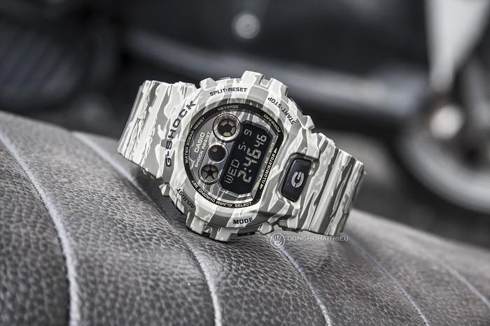 Review đồng hồ G-Shock GD-X6900CM-5DR thời lượng pin 10 năm - Ảnh 2