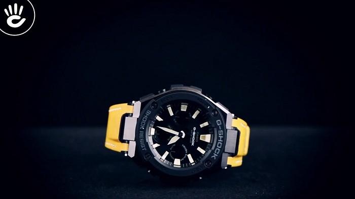 Review đồng hồ G-Shock GST-S120L-1BDR: Dây da độc lạ ngầu - Ảnh 1