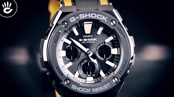 Review đồng hồ G-Shock GST-S120L-1BDR: Dây da độc lạ ngầu - Ảnh 2