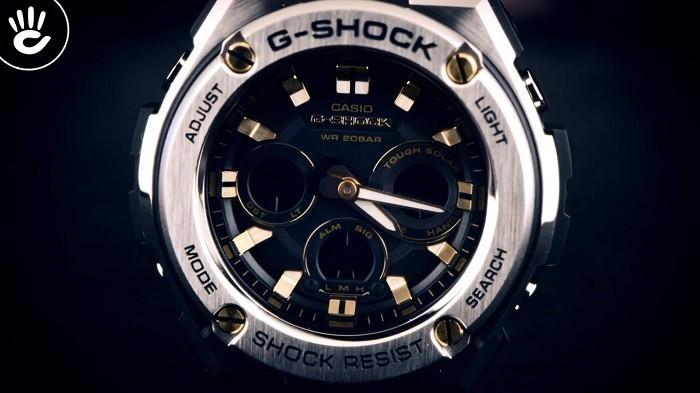Review đồng hồ G-Shock GST-S310D-1A9DR: Sang trọng mạnh mẽ - Ảnh 2