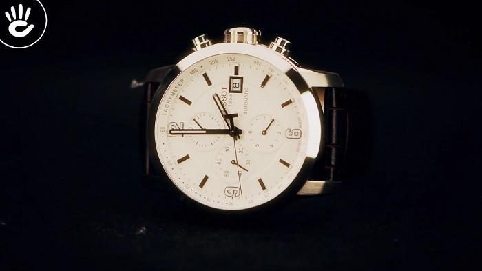 Review đồng hồ Tissot T055.427.16.017.00: Cao cấp lịch lãm - Ảnh 1