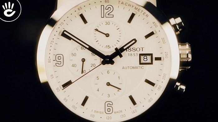 Review đồng hồ Tissot T055.427.16.017.00: Cao cấp lịch lãm - Ảnh 2
