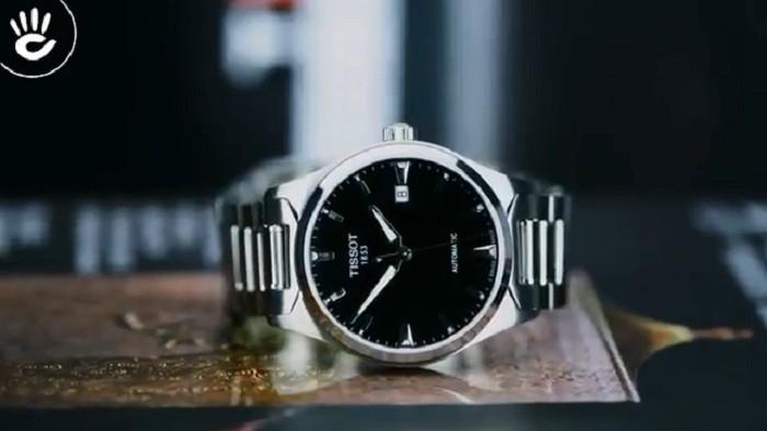 Đồng hồ Tissot T060.407.11.051.00 phiên bản của sự tối giản - Ảnh 1